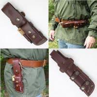 Mk II TBS Boar Bushcraft Knife - Full Cover Multi Carry Sheath Edition - CB